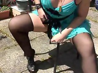 British Chubby European  Outdoor Stockings