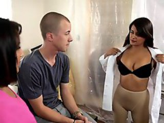 Doctor  Old and Young Pantyhose Stripper
