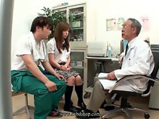 Asian Daddy Doctor Old and Young Student Teen Uniform