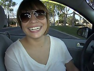 Amateur Car Latina Teen