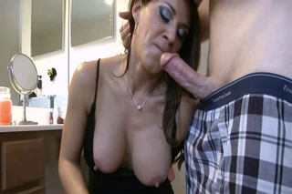 Blowjob Mature Mom Natural Nipples Old and Young