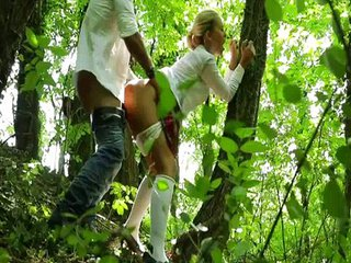Anal Clothed Doggystyle Outdoor Russian Teen