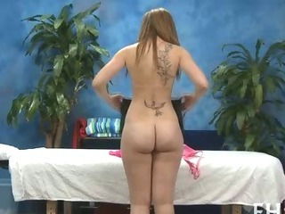Ass Massage Tattoo Teen