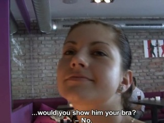Amateur European Pov Public Teen
