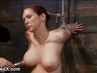 Extreme Nipple Afflict And Brutal Gag Beyond everything Pompously Dick For Babe Who Riding...