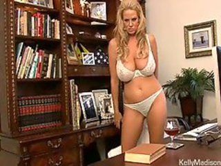 Amazing Big Tits Lingerie  Natural Office Pornstar Secretary