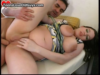 Pregnant Busty Teen Chick Loves Having Part3