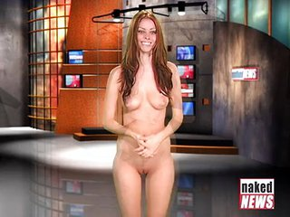 Naked News Audition Laura