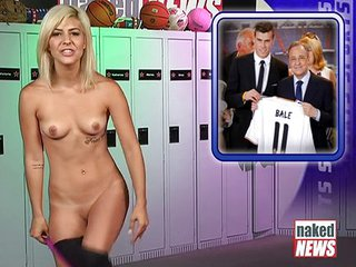 Naked News Leah Sports