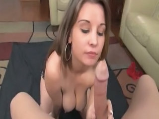 Babe  Blowjob Natural Pov