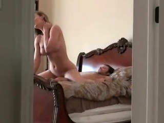 Blonde Riding Cock And Fucked Missionary On Hidden Camera