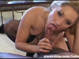 Blowjob Interracial Piercing Teen