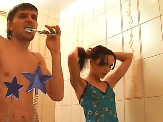 Bathroom Sister Teen