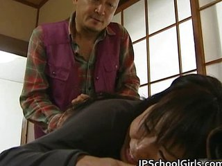 Asian Daddy Japanese Old and Young Student Teen