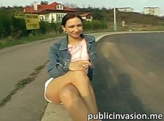 Amateur Outdoor Pov Public Teen