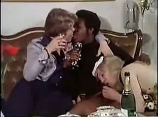 Mamada Borratxa Interracial  Trio Vintage