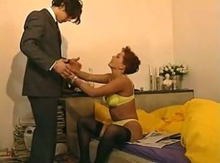 European German Lingerie Mature Mom Old and Young Stockings