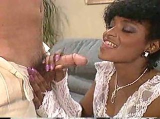 Blowjob Ebony Interracial  Vintage