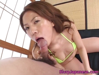 Yuka Koizumi Incredible Double Blowjob Part4