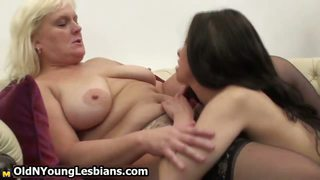 Lesbian Mature Mom Old and Young