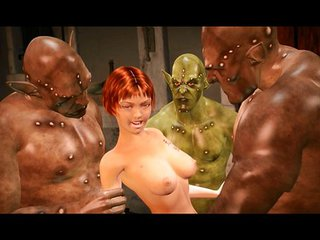 3d Babe Trapped And Fucked By Monsters