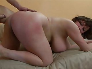 Big Tits Chubby Doggystyle European German  Natural