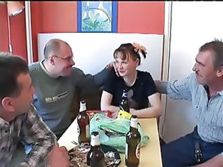 Amateur Daddy Daughter Drunk Family Old and Young Russian