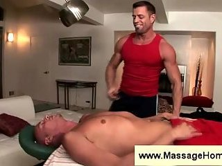 Masseuse is way to eager to touch gay