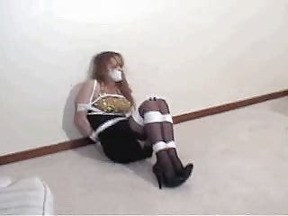 Party Girl Bound & Gagged 1