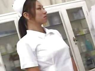 Asian Babe Nurse Uniform