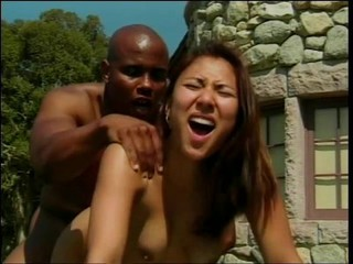 Asian Babe Doggystyle Hardcore Interracial Outdoor