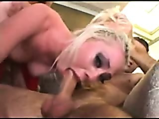 Blonde Punished By Dp Gag Fuck