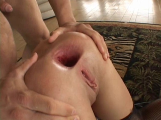 Kelly Wells Double Anal Gangbang