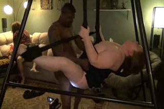 Interracial Bbw Pound Swing