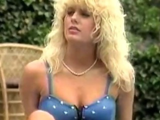 Blonde  Outdoor Pornstar Vintage