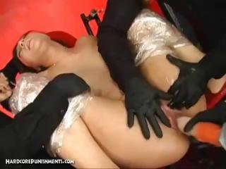 Japanese Girl Is Bound And Subjected To...