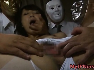Asian Nurse Has Hardcore Sex
