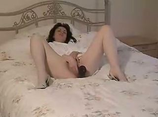 Amateur Homemade Masturbating  Solo Toy Vintage