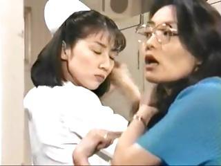 Japanese Nurse Is Doing Her Thing To Giv...