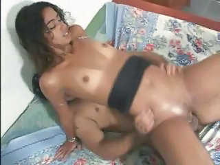 Babe Brazilian Latina Riding