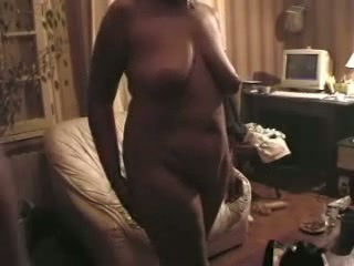 Amateur Chubby Homemade  Wife