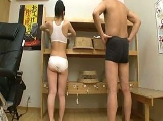 Daddy& 039;s cock in the bathroom 9 _: japanese old+young teens tits