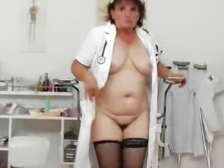 Chubby Doctor Mature  Uniform