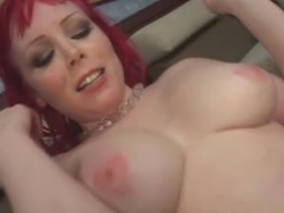 Red head Milf bumped And orgasmed onto