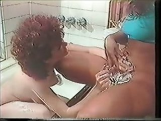 Bathroom Fetish Lesbian  Shaved Vintage