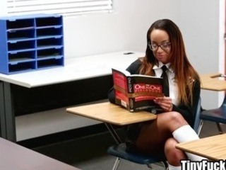 Hot schoolgirl in trouble fucks her teacher