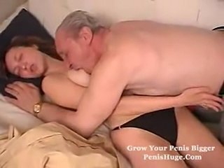 Old man fucks his grandsons girlfriend  free