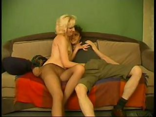 Amateur Blonde Mature Mom Old and Young Pantyhose