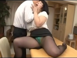Asian Japanese Mature Pantyhose Secretary