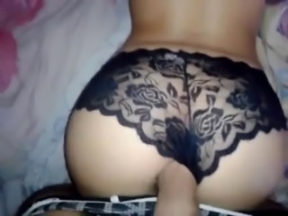 Amateur Ass Doggystyle Homemade Lingerie Panty Pov